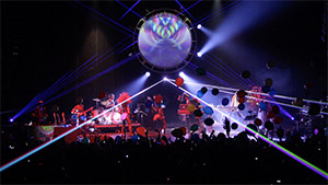 Shpongle Live show at Manhattan Center stage shot